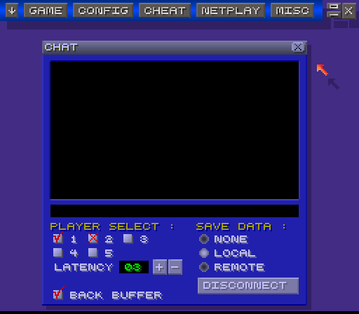 Snes Netplay Chat Window